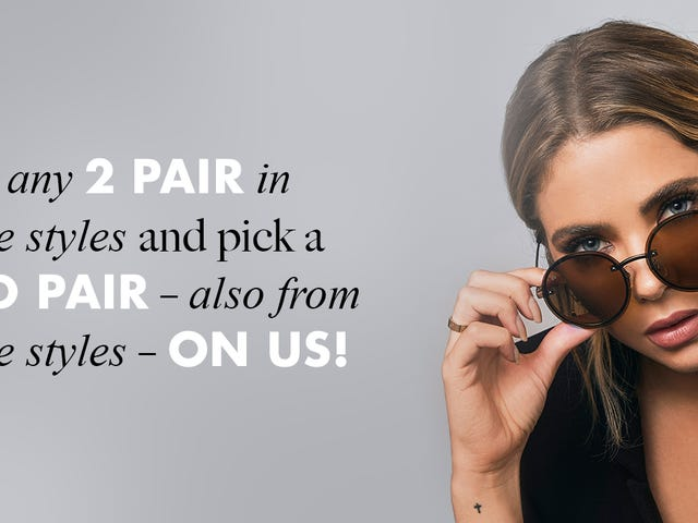 Try On Some New Privé Revaux Sunglasses Starting At Just $20 Per Pair