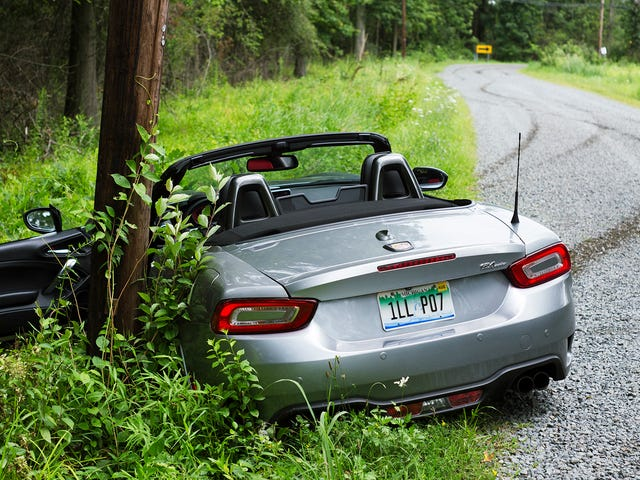 Three Lessons I Learned From Crashing The Fiat 124 Spider Abarth, Like An Asshole