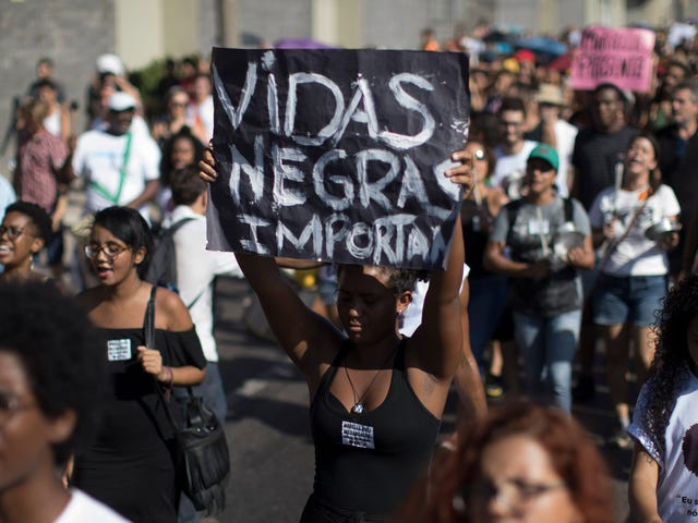 The Year Black Lives Matter in Brazil:Death of Young Black Man in Rio Prompts Protests, Comparisons to Eric Garner