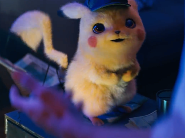 The First Detective Pikachu Movie Trailer Is as Creepy as It Is Fun