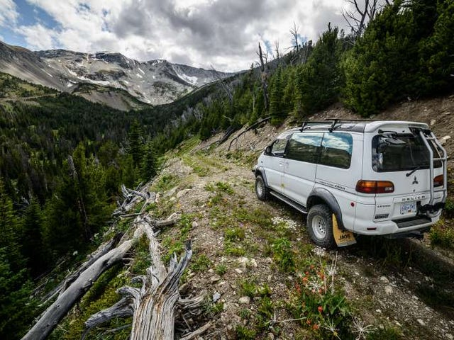 Tutta l'avventura che puoi fare: la Mitsubishi Delica