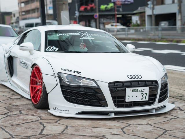 Liberty Walk's Japanese Headquarters Is Just As Crazy As Their Tuned Cars