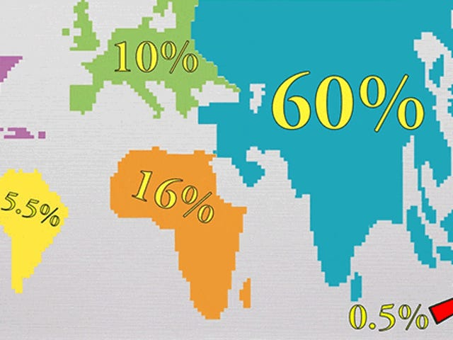 Mitä jos koko maailman asukas asuisi yhdessä kaupungissa?