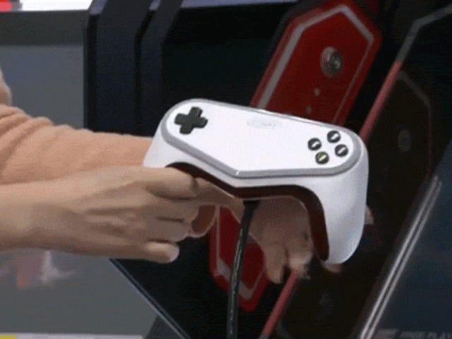 Il <i>Pokémon</i> Arcade Fighter ha un controller stupido