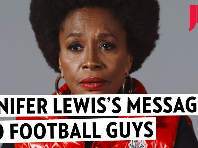Jenifer Lewis, moeder van Black Hollywood, heeft advies voor voetballers