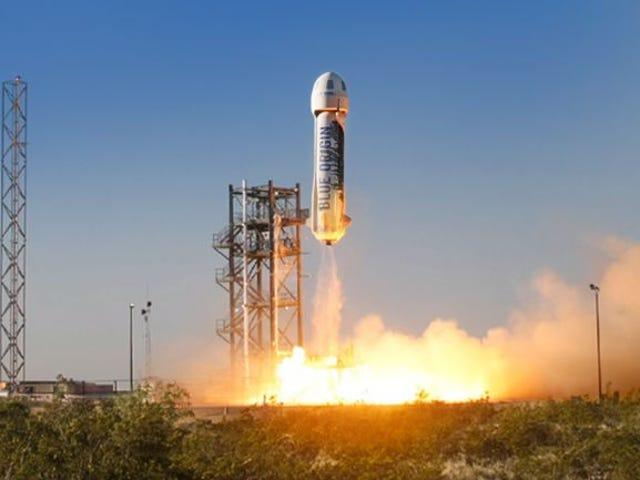 Blue Origin dice que comenzarán a vender boletos para viajes espaciales en 2019