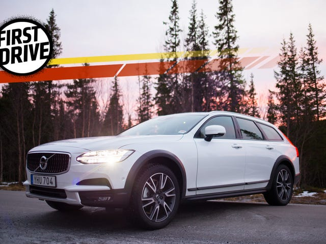 The 2017 Volvo V90 Cross Country Is The Lifted Wagon For People Who Dream Of Standing Out