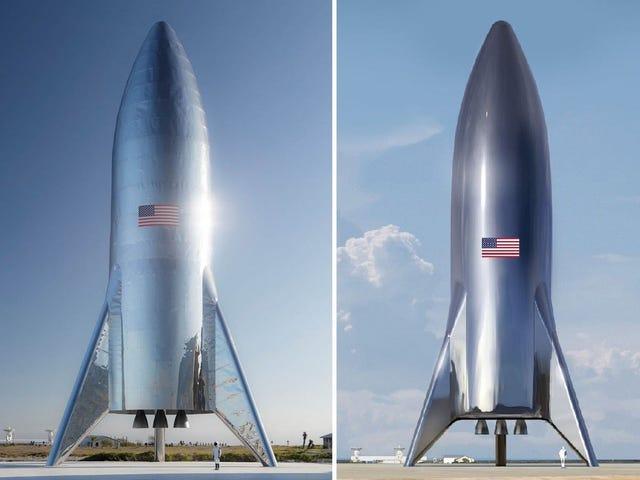 Por qué SpaceX ha từ bỏ la la lara de carbono en ủng hộ del acero para su nave Espacial a Marte