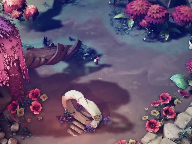 Nanotale is a role-playing game where you battle monsters by typing and it looks to be coming along
