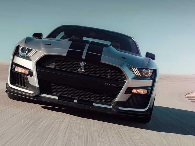 El nuevo Mustang Shelby GT500 de 2020 es el vehículo de calle más potente que ha hecho Ford