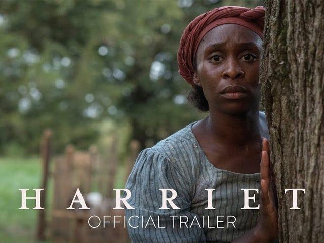 Assista: Cynthia Erivo traz a luta pela liberdade de vida em Harriet Trailer