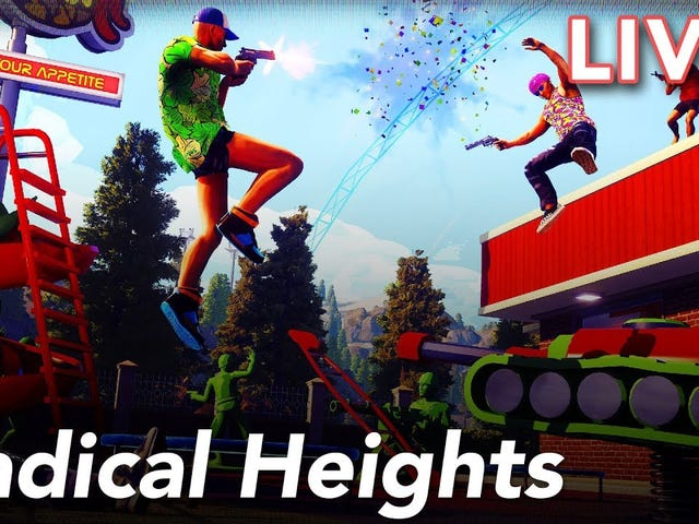 We're playing Boss Key Productions' Radical Heights on YouTube Live!