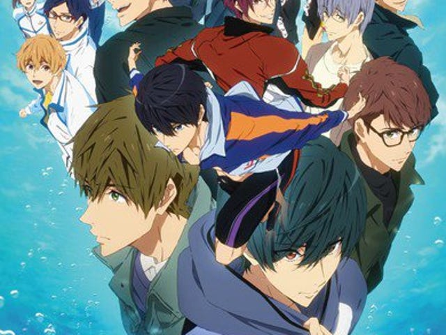 Enjoy the newest promo of Free! Dive to the Future