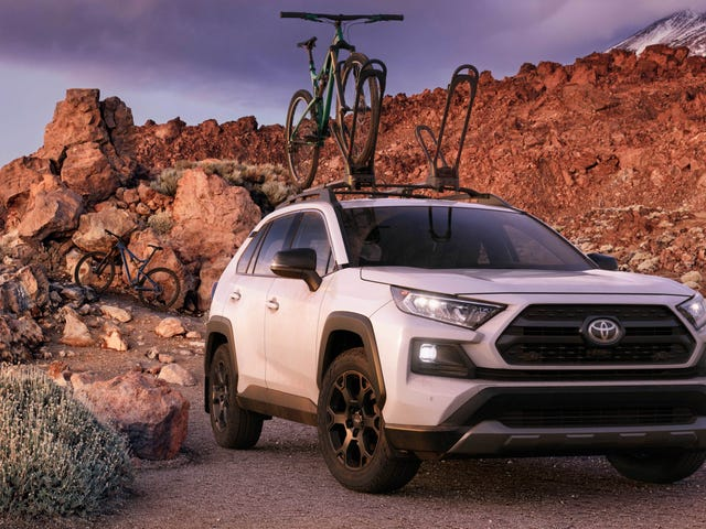 The2020 Toyota RAV4 TRD Off-Road Adds Even More Toughness to a Small Crossover