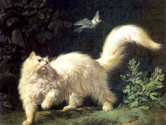 Cats in Paint-1700s