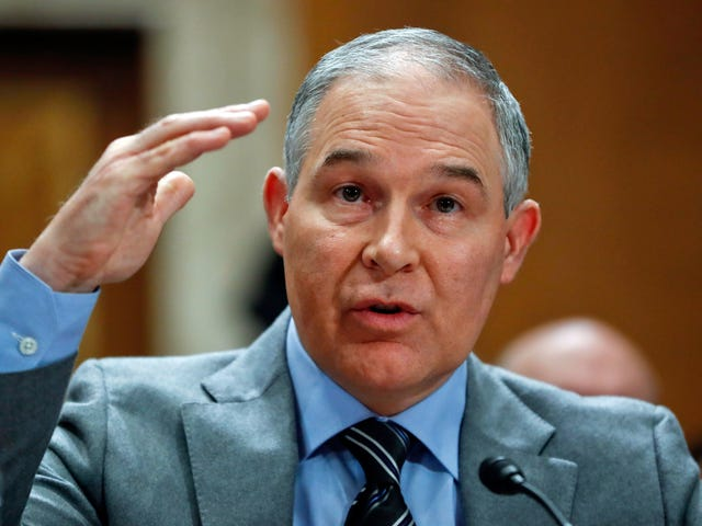 EPA Chief Scott Pruitt Cancels Trip to Israel as Furor Over His First-Class Travel Habits Grows