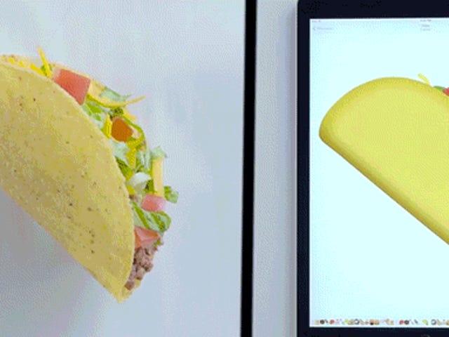 Gıda Emojisinin Gerçek Hayattaki Yeniden Toplanması Çok Eğlenceli