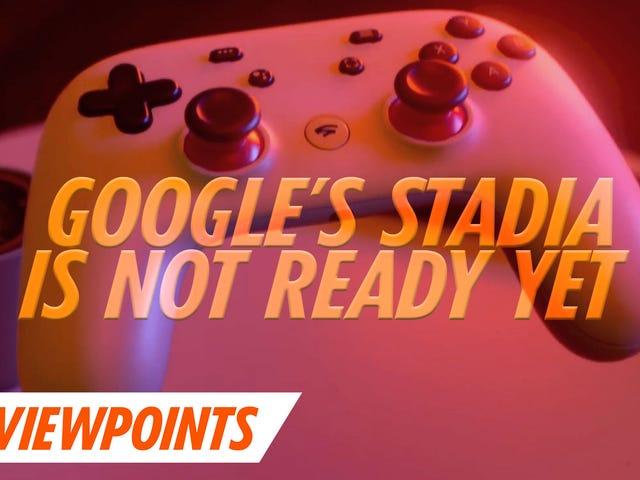 Googles Stadia er ikke klar for første gang