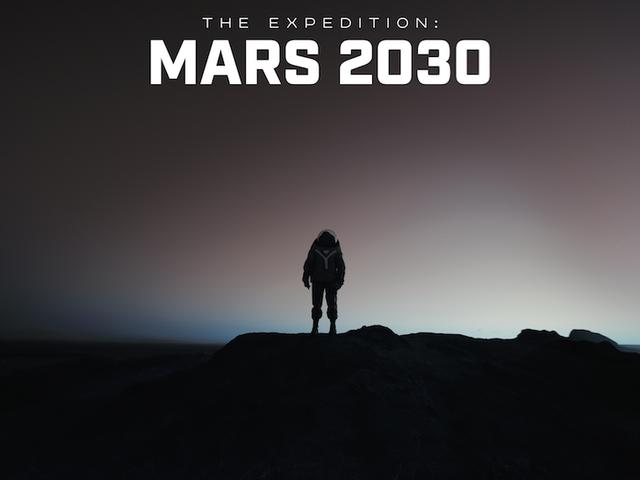 """Pourquoi devrions-nous nous préoccuper d'aller sur Mars?  Le nouveau documentaire de FUSION TV intitulé """"L'expédition: Mars 2030"""" explore la réponse"""
