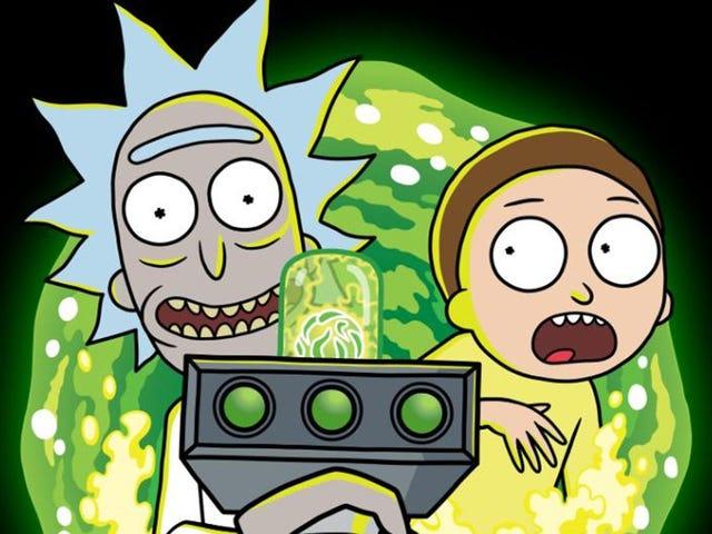 Rick y Morty anuncian su regreso