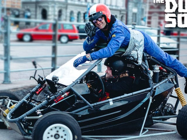 In Finnish-racing-driver-land roll cage rolls on you