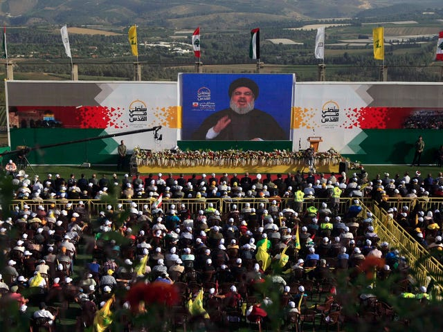 Hezbollah Reportedly Claims Facebook, Twitter Have Disabled Their Main Accounts