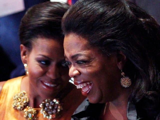 作为第一夫人的米歇尔·奥巴马的最后采访将与她的好芽奥普拉