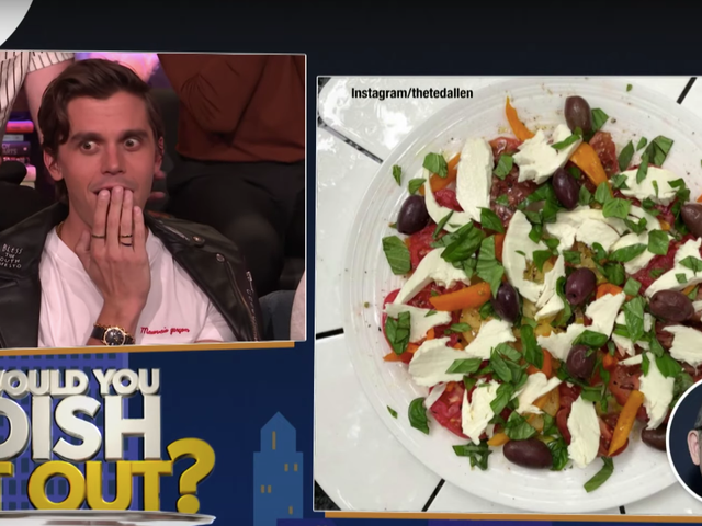 Antoni Thinks He Can Say 'Olive Oil Drizzle' and That Makes Him a Food Expert