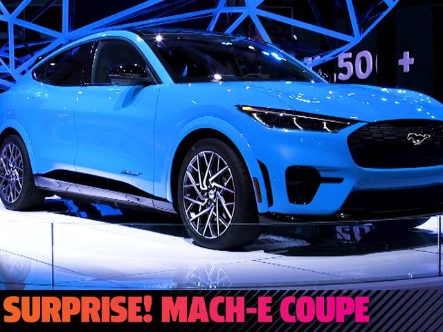 Το καταπληκτικό Mach-E Coupe της Ford είναι η μεγαλύτερη έκπληξη στο LA Auto Show