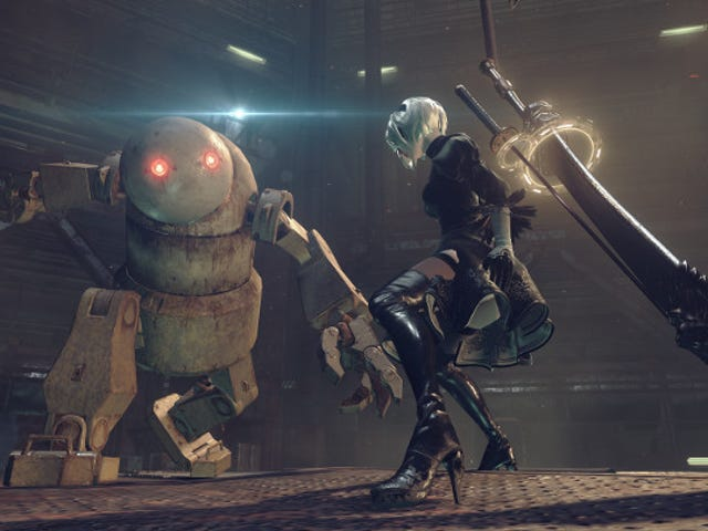 We're returning to our playthrough of Nier: Automata right now on Kotaku's Twitch channel