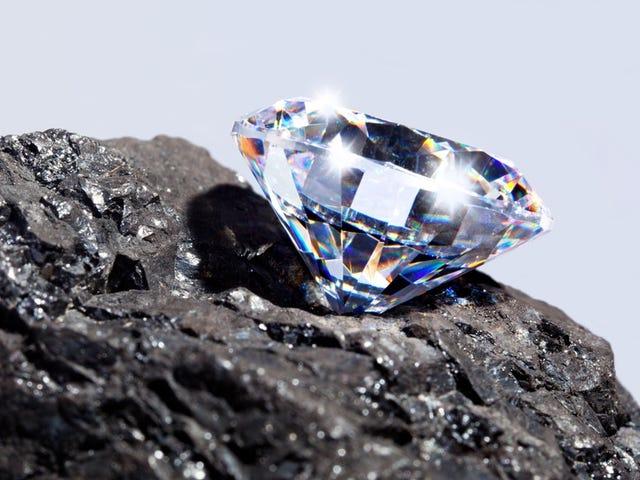 Confirma che sei impazzito da un meteorito puede formar diamantes (muy raros y resistentes)