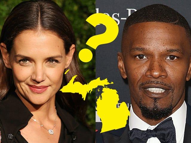 Est-ce que Jamie Foxx et Katie Holmes sont sur le point de se marier à sa maison de vacances au Michigan?