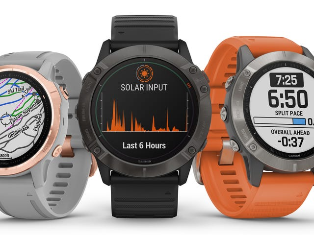 Garmin's New Solar-Powered Watch Is a Beast In More Ways Than One