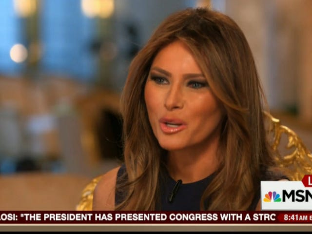 Melania Trump on Donald: 'I Don't Feel He Insulted The Mexicans'