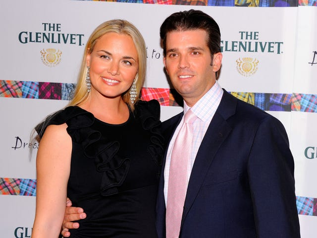 Donald Trump Jr.'s Wife Is Leaving Because He's Cheaper Than a Pair of Plastic Sandals From CVS: Report
