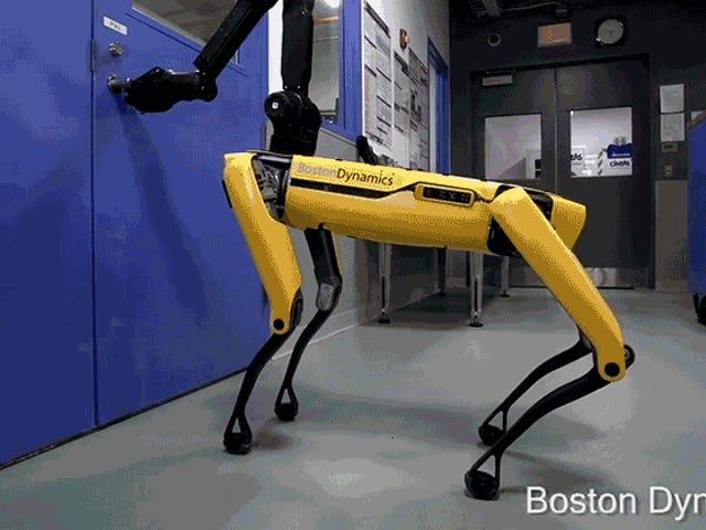 Spot, niepokojący pies-robot Boston Dynamics, jest już w sprzedaży
