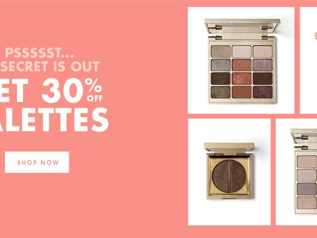 Hent en palet fra Stila Cosmetics til 30% rabat, kun i dag