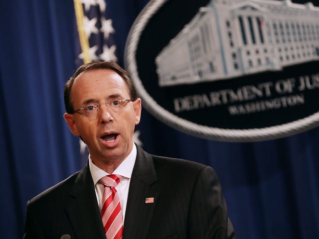 11 Republican Congressmen File Articles of Impeachment Against Rod Rosenstein, Proving That U.S. Democracy Is Indeed on Its Deathbed