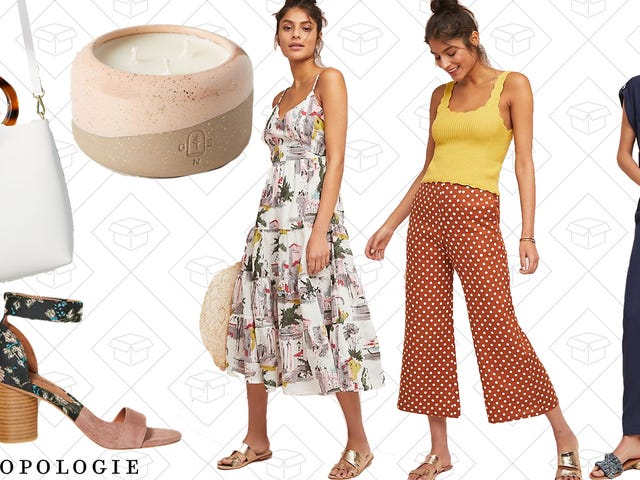 Anthropologie Is Taking 20% Off Every. Single. Item.