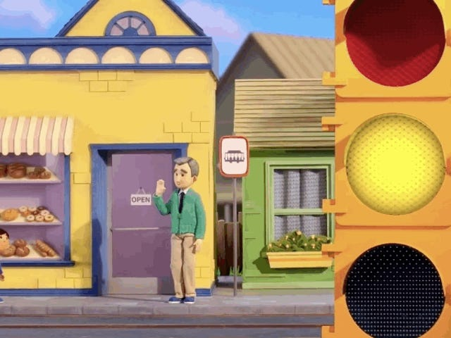 This Google Doodle Perfectly Captures the Magic of <i>Mister Rogers' Neighborhood</i>