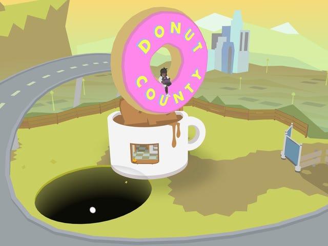 Donut County , гра про те, що бездонна дірка, це весело, але якось дрібно