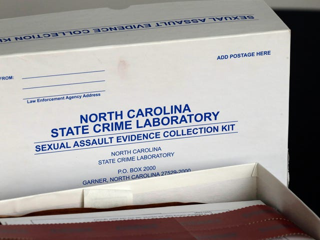 This Is What Happens When You Test Old Rape Kits