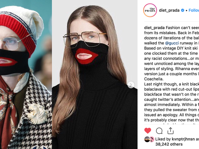Gucci Issues Security Protocol on How to Deal With 'Disruptive Behavior' Amid Blackface Scandal