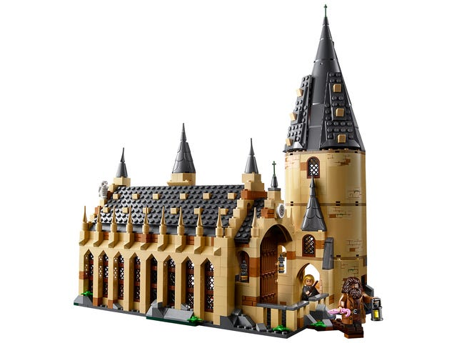The New Lego Harry Potter Line Starts With Hogwarts' Great Hall