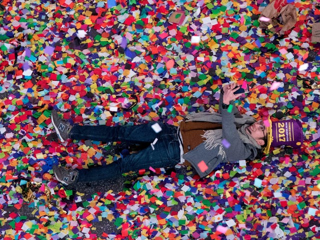 It Takes a Crack Team a Year of Prep to Rain Confetti Down Upon Times Square on New Year's