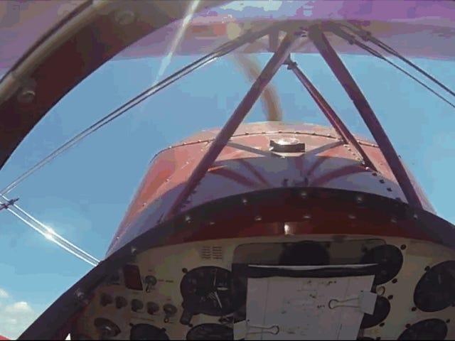 La milagrosa reacción de un piloto para evitar un aterrizaje forzoso cuando el motor de su avión se ha parado