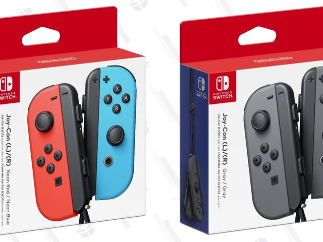 Save a Few Bucks On a Spare Set of Joy-Con