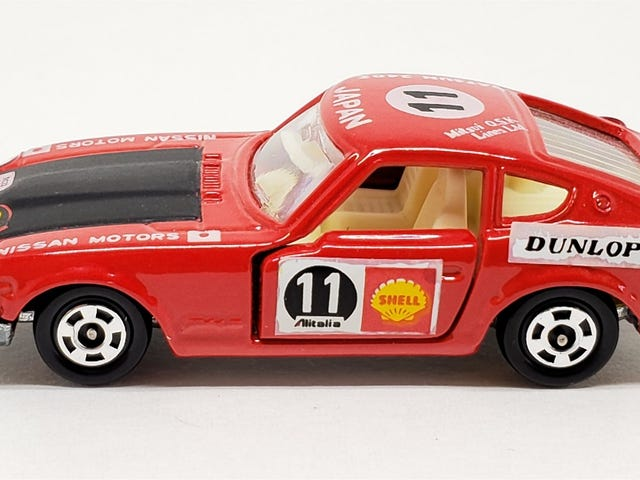 [REVIEW] Tomica Nissan Fairlady 240ZG Safari Rally Version