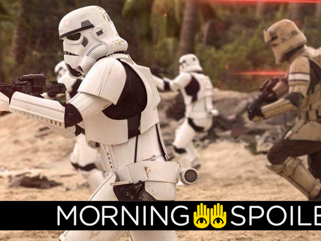 The Han Solo Movie Gives Us Our First Look at a New Kind of Stormtrooper