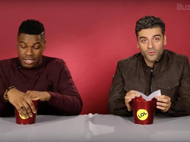 John Boyega et Oscar Isaac connaissent toutes les vilaines choses que vous avez imaginées